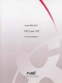Vif-Lent-Vif Pascal Proust Partition Saxophone - laflutedepan.com