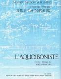 L'Aquoiboniste Serge Gainsbourg Partition laflutedepan.com