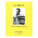 10 de ses meilleures oeuvres Jo Privat Partition laflutedepan.com