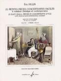 21 Petites Pièces Concertantes Faciles Volume 1 laflutedepan