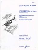 Concerto en mib Johann Nepomuk Hummel Partition laflutedepan.com