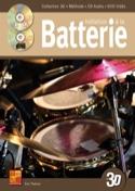 Initiation à la batterie en 3D Eric Thiévon laflutedepan.com