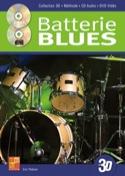 Batterie Blues en 3D Eric Thiévon Partition laflutedepan.com