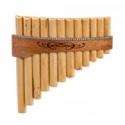 Instrument - FLUTE DE PAN Premium en Do majeur à 12 tubes laflutedepan.com