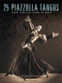 25 Piazzolla Tangos pour Violoncelle et Piano laflutedepan.com