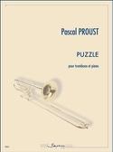 Puzzle Pascal Proust Partition Trombone - laflutedepan.com