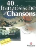 40 Chansons Françaises Partition laflutedepan.com