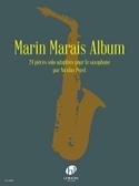 Marin Marais Album Marin Marais Partition Saxophone - laflutedepan.com