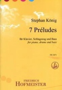 7 Préludes Stephan König Partition Jazz - laflutedepan.com