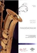 Pandémonium Vincent Balivet Partition Saxophone - laflutedepan.com