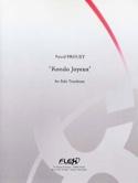 Rondo Joyeux Pascal Proust Partition Trombone - laflutedepan.com