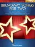 Broadway Songs for Two Trumpets Partition laflutedepan.com