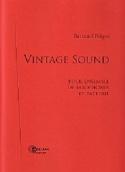 Vintage Sound Bertrand Peigné Partition Saxophone - laflutedepan.com