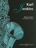 Barocco No.1 pour Quatuor de Saxophones Karl Jenkins laflutedepan.com