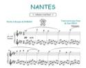 Nantes - Barbara - Partition - Chansons françaises - laflutedepan.com