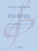 Duo Rituel - Thierry Escaich - Partition - laflutedepan.com