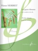 Les Quatre Eléments - Victor Herbiet - Partition - laflutedepan.com