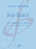 Duo Dance - Thierry Escaich - Partition - Saxophone - laflutedepan.com