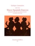 3 Dances Espagnoles - Enrique Granados - Partition - laflutedepan.com