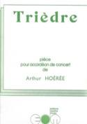 Trièdre - Arthur Hoérée - Partition - Accordéon - laflutedepan.com