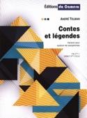 Contes et Légendes André Telman Partition Saxophone - laflutedepan.com