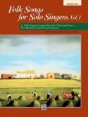 Folk Songs for Solo Singers - Volume 1 Auteurs Divers laflutedepan.com