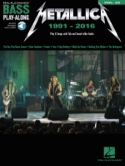 Bass Play-Along Volume 22 - Metallica: 1991-2016 laflutedepan.com