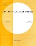 Les Bateaux sont Partis Charles Aznavour Partition laflutedepan.com