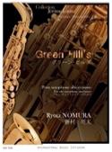 Green Hill's Ryota Nomura Partition Saxophone - laflutedepan.com