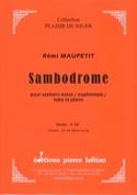 Sambodrome Rémi Maupetit Partition Tuba - laflutedepan.com