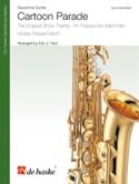 Cartoon Parade Partition Saxophone - laflutedepan.com