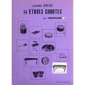 24 Etudes Courtes Volume I Hector Berlioz Partition laflutedepan.com