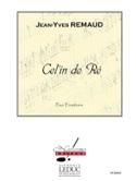 Cel'In De Re Jean-Yves Remaud Partition Trombone - laflutedepan.com