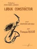 Lobuk Constrictor - François Rossé - Partition - laflutedepan.com