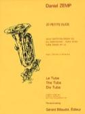 20 Petits Duos Daniel Zemp Partition Tuba - laflutedepan.com