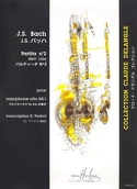 Partita N° 2 BWV 1004 BACH Partition Saxophone - laflutedepan.com