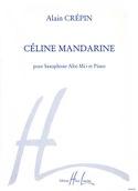 Céline Mandarine - Alain Crepin - Partition - laflutedepan.com