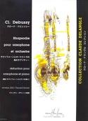 Rhapsodie DEBUSSY Partition Saxophone - laflutedepan.com