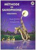 Méthode de Saxophone Débutants DELANGLE - BOIS laflutedepan.com