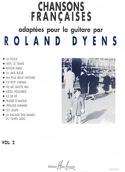 Chansons Françaises Volume 2 - Roland Dyens - laflutedepan.com