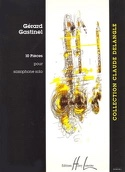 10 Pièces Gérard Gastinel Partition Saxophone - laflutedepan.com