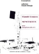Monotaurus Claude Lenners Partition Saxophone - laflutedepan.com