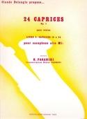 24 Caprices Opus 1 Volume 2 - N. Paganini - laflutedepan.com