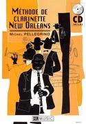 Méthode de Clarinette New Orleans Michel Pellegrino laflutedepan.com