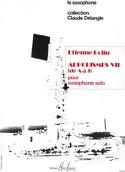 Aphorismes VII A-J Volume 1 Etienne Rolin Partition laflutedepan.com