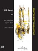 Duo J.N. Savari Partition Saxophone - laflutedepan.com