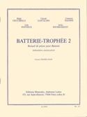 Batterie-Trophée 2 Partition Batterie - laflutedepan.com
