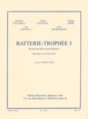 Batterie-Trophée 3 Partition Batterie - laflutedepan.com