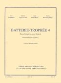 Batterie-Trophée 4 Partition Batterie - laflutedepan.com