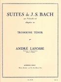 Suites BACH Partition Trombone - laflutedepan.com